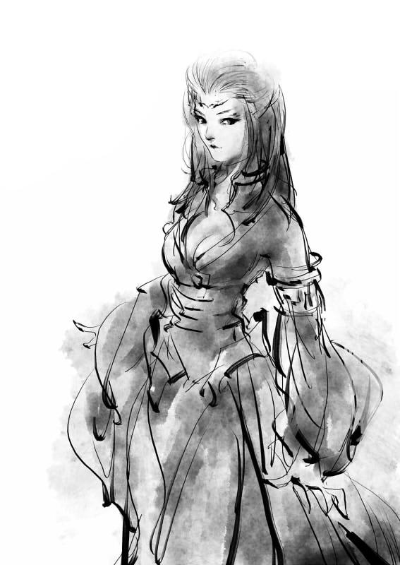 古剑人物涂鸦